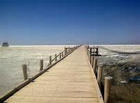 دریاچه ارومیه در حال تبدیل به کانون ریزگرد در خاورمیانه است