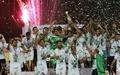 تصاویری از جشن قهرمانی ذوب آهن در جام حذفی