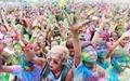 عکس روز: مسابقه دو رنگی