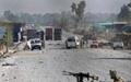 حمله انتحاری علیه کاروان ناتو در کابل ۱۷ زخمی برجای گذاشت