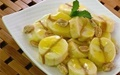 آشنایی با روش تهیه دسر موز، کره بادام زمینی و سس