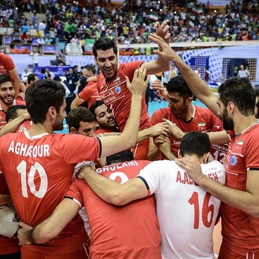 عملکرد آماری ملیپوشان والیبال ایران تا پایان هفته هفتم