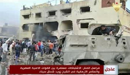 کشته شدن ۶۴ نظامی مصری در سینا؛ داعش مسئولیت حملات را بر عهده گرفت
