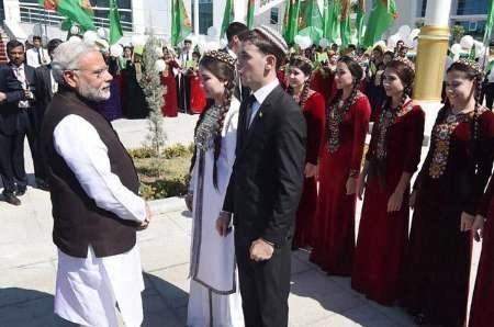 نخست وزیر هند: ایران پل روابط با ترکمنستان است