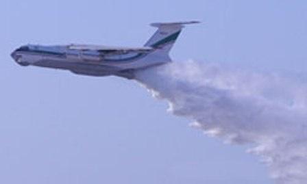 سامانه اطفای حریق هوایی سپاه پاسداران عملیاتی شد