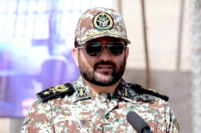 امیر اسماعیلی از گروه پدافند هوایی کرمان بازدید کرد