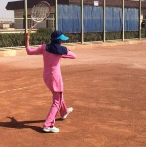 مهتا خانلو قهرمان تور تنیس زیر ۱۴ سال آسیا شد