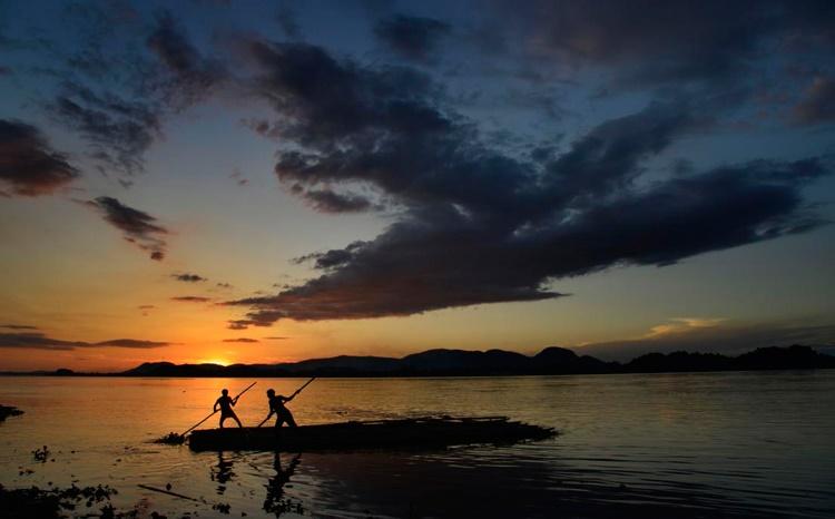 عکس روز: رودخانه براهماپوترا