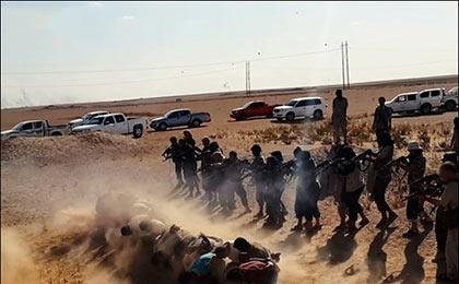 داعش ۱۲۰ نفر را در استان نینوا اعدام کرد