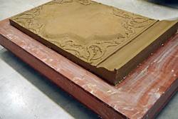 ساخت نمونه خشتهای بزرگ دوره قاجار