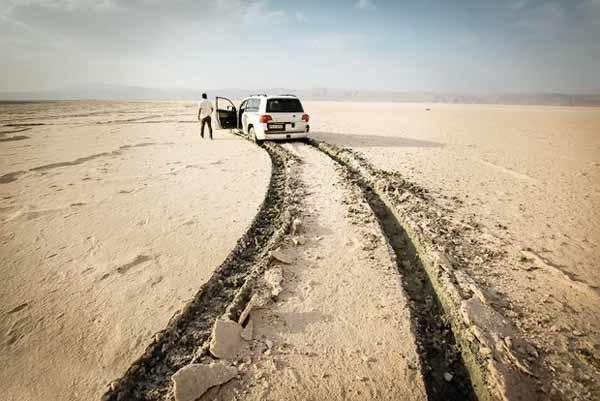 دریاچه مهارلو هم به سرنوشت جازموریان دچار شد