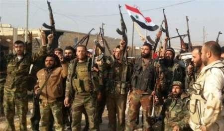 پیشروی ارتش سوریه و نیروهای مقاومت به مرکز شهر الزبدانی