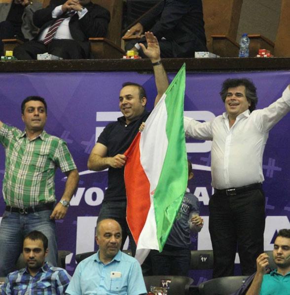 تصاویر دیدار سوم تیمهای والیبال ایران و روسیه