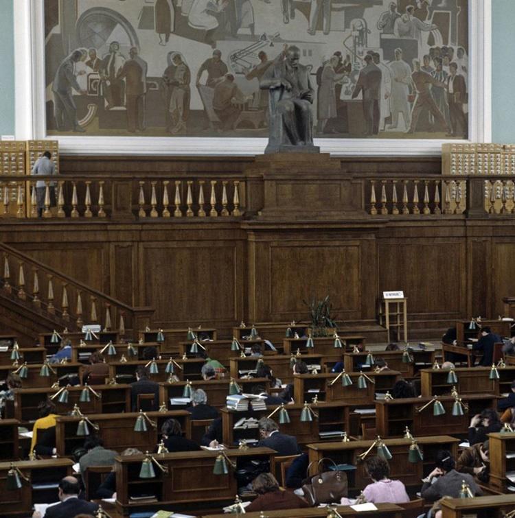 کتابخانه دولتی روسیه در مسکو  ۱۵۳ ساله شد