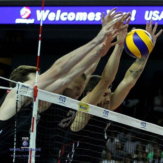 پایان رقابتهای گروه B سطح یک لیگ جهانی با صعود آمریکا و لهستان