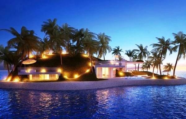 ساخت جزایر مصنوعی شناور