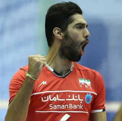 سید محمد موسوی بهترین مدافع سطح یک لیگ جهانی