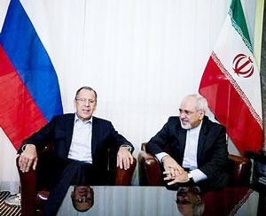 دیدار ظریف و لاوروف؛ احتمال ادامه مذاکرات تا ۱۸ تیر