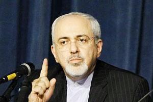 ظریف فریاد زد هیچگاه یک ایرانی را تهدید نکنید