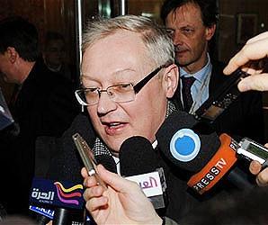 ریابکوف: در چند متری پایان مذاکرات هستیم