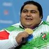 ارتقای رکورد فوق سنگین وزنه برداری معلولان جهان