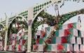 تشییع و خاکسپاری پیکر شهدای غواص در خوزستان