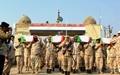بازگشت پیکرهای پاک ۷۶ شهید تازه تفحص شده از مرز شلمچه به میهن