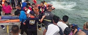 فیلیپین، غرق شدن کشتی ۳۶ قربانی گرفت