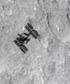 عبور ایستگاه فضایی از برابر قرص ماه