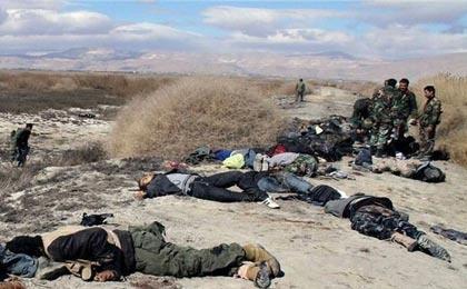 هلاکت ۱۰۰ تروریست در سوریه