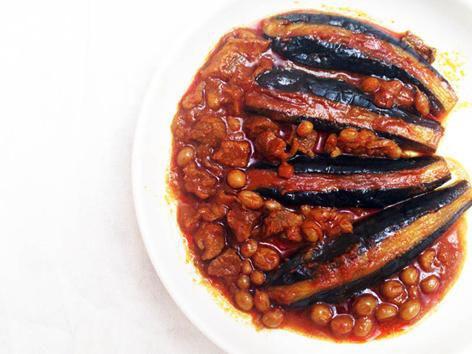 آشنایی با روش تهیه خورش غوره بادمجان - غذای محلی استان همدان