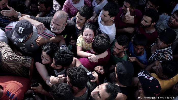 تراژدی پناهجویان در یک جزیره یونان