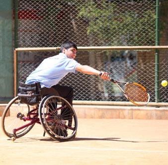 جشنواره مهر رضوی: پایان رقابتهای نمایشی تنیس با ویلچر