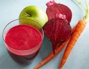 نوشیدنی چغندر، هویج و سیب