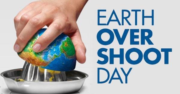 مصرف ذخیره یکسال منابع طبیعی زمین در کمتر از ۹ ماه