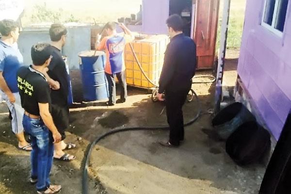 قاچاق سوخت به ارمنستان