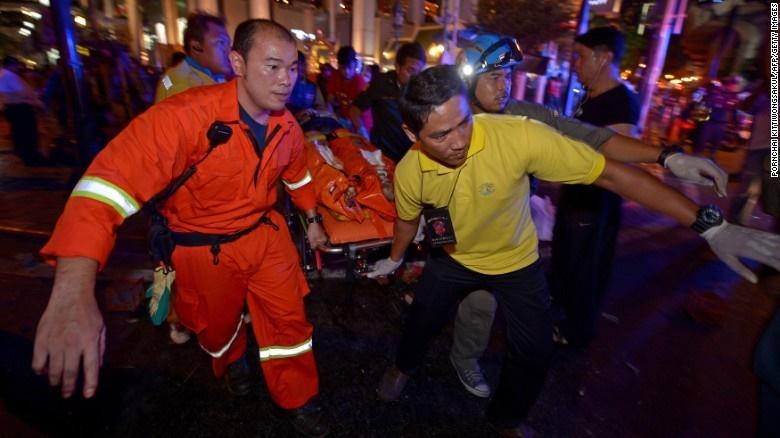 پلیس تایلند در جستجوی مظنون انفجار