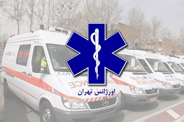 انفجار کپسول در اورژانس تهران دو مصدوم داشت