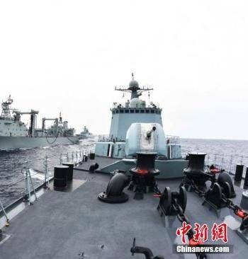 رزمایش مشترک چین و روسیه آغاز شد