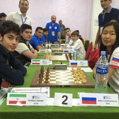 شطرنج زیر ۱۶ سال جهان: تیم ایران صدرنشین شد