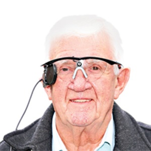 اولین انسان با دید مصنوعی