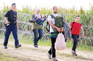 ارتش مجارستان به جنگ پناهجویان میرود