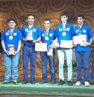 ایران قهرمان المپیاد شطرنج زیر ۱۶ سال جهان شد