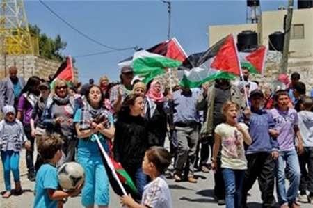 سرکوب شدید تظاهرات فلسطینیان در کرانه باختری