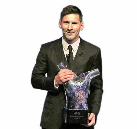 جایزه بهترین بازیکن اروپا در دستان مسی