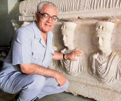 کمیته ملی موزههای ایران قتل باستانشناس سوری را محکوم کرد