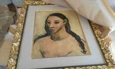 کشف نقاشی ممنوعالخروج  پیکاسو