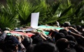 پیکرهای ۱۷ شهید از مرز مریوان به کشورمان منتقل شدند
