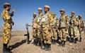حفاظت بخشی از مرزهای غربی توسط تکاوران ارتش