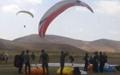 سروش تیموری و سحر اولیایی قهرمان مسابقات پاراگلایدر ایران شدند